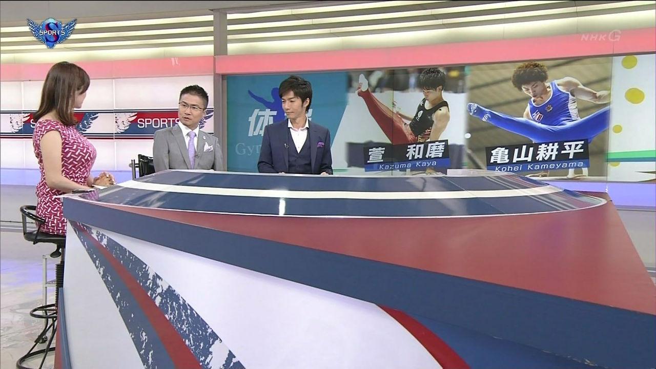 【動画像あり】NHKアナウンサーのおっpいの迫力でボッキはんぱないwwwwwwwwwwwwww